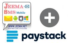 Jeema SMS Paystack plugin